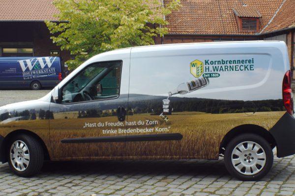 Fahrzeug | Beklebung | Hannover | Warnecke | 1
