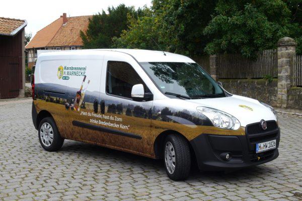 Fahrzeug | Beklebung | Hannover | Warnecke | 3