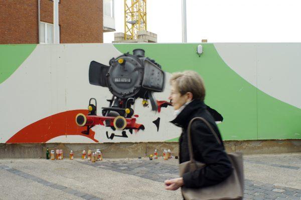 Graffiti Bauzaun