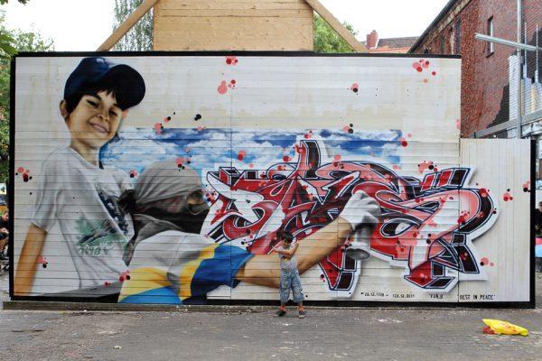 Graffiti | Fassade | Hannover | Glocksee | Erinnerung | Baks | 6