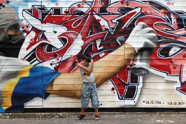 Graffiti | Fassade | Hannover | Glocksee | Erinnerung | Baks5