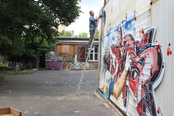 Graffiti | Fassade | Hannover | Glocksee | Erinnerung | Baks_4