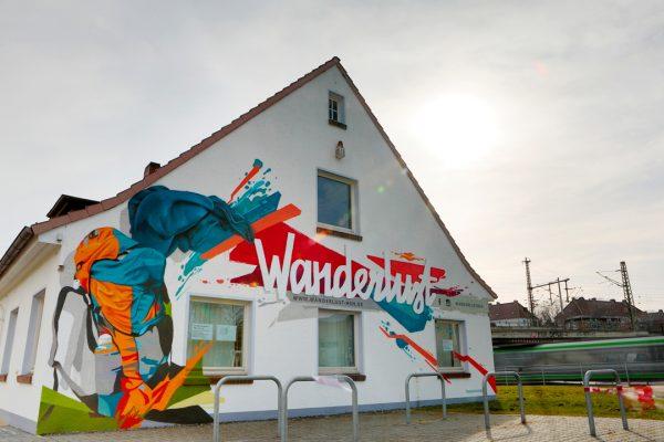 Graffiti | Fassade | Hannover | Wanderlust16