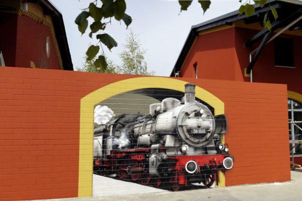 Graffiti Fassaden