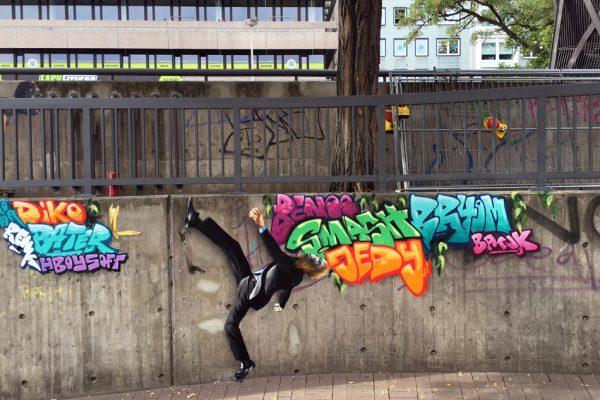 Graffiti | Illusionsmalerei | Hannover | Raschplatz | Urban Jungle | 12