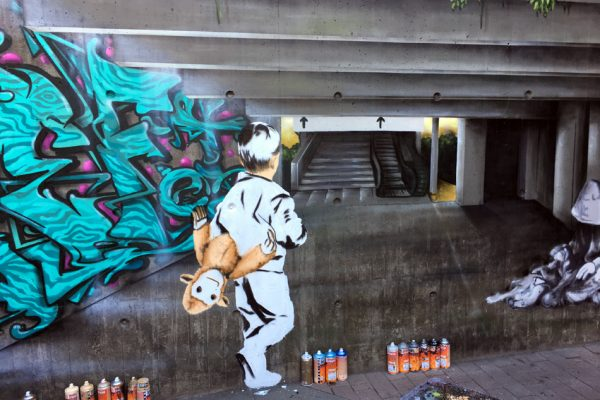 Graffiti | Illusionsmalerei | Hannover | Raschplatz | Urban Jungle | 2