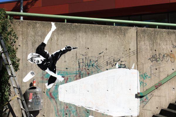 Graffiti | Illusionsmalerei | Hannover | Raschplatz | Urban Jungle | 27