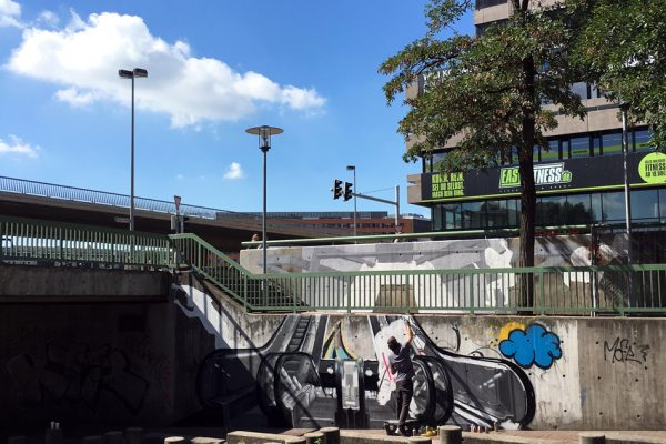 Graffiti | Illusionsmalerei | Hannover | Raschplatz | Urban Jungle | 29