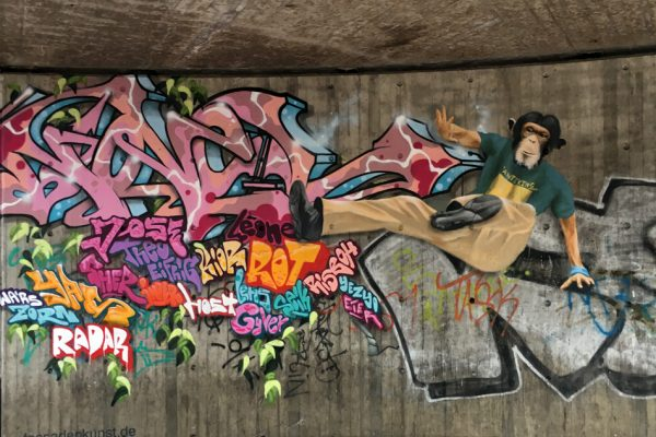 Graffiti | Illusionsmalerei | Hannover | Raschplatz | Urban Jungle | 7