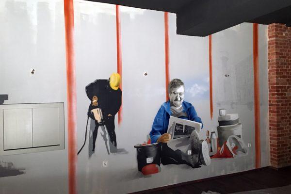 Graffiti | Innenräume | Jo`s Restaurant
