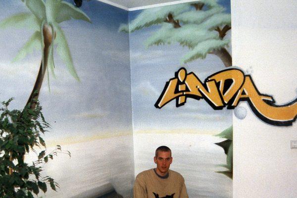Graffiti | Innenraum | Linda