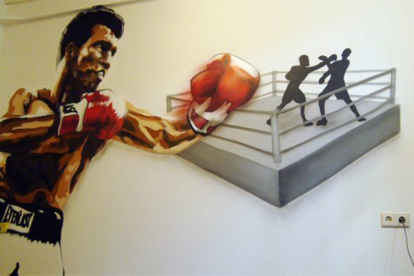Graffiti | Innenraum | Mohamad Ali