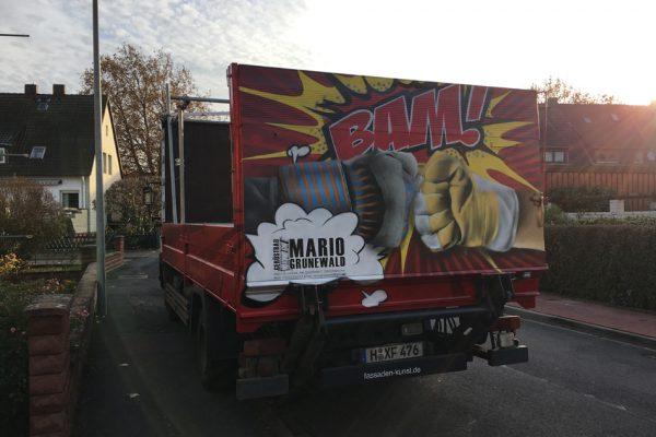 Graffitiauftrag Hannover