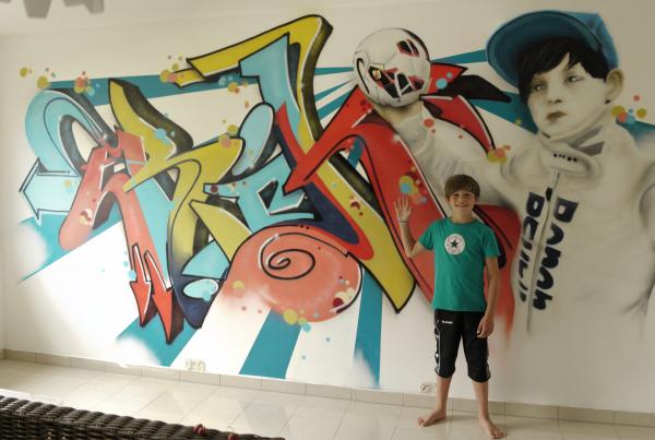 Graffiti Sprüher gesucht