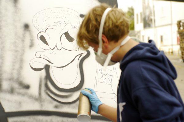 Graffiti Künstler