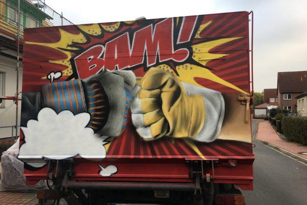 Graffiti Laster Hannover