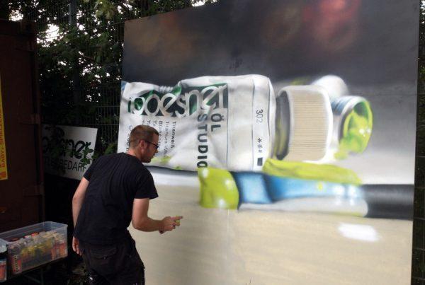 Graffiti | Zeitraffer | Boesner