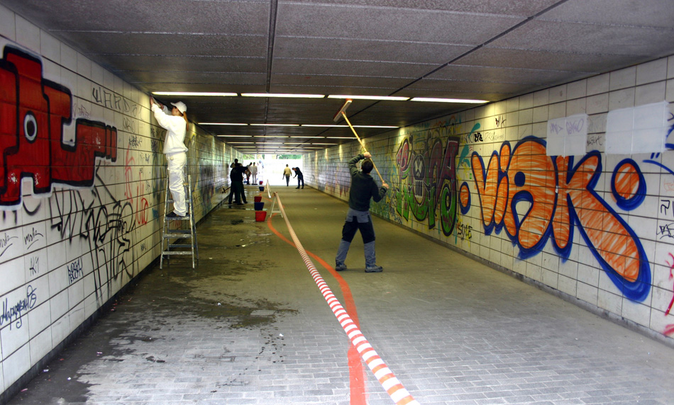 Graffiti Sprayer Hannover