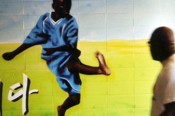 Graffiti Sprayer Hannover | WM 2006 | 8