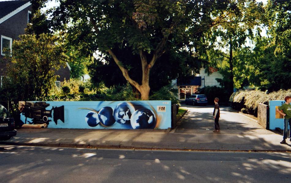 Graffitifassade | ZDF