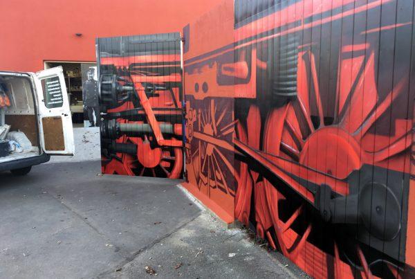 Graffitikünstler | Illusionsmalerei