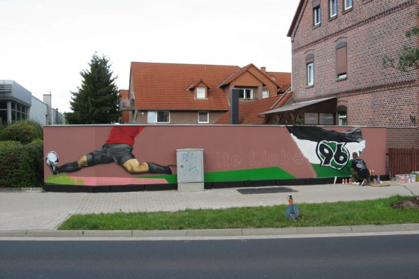 Hannover 96 Graffiti