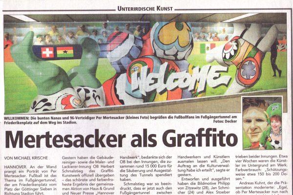 Graffiti Sprayer Hannover