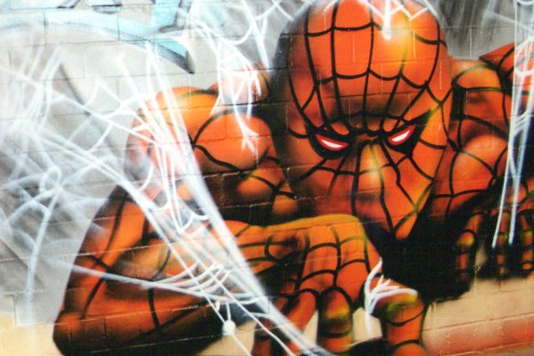 Graffiti Spiderman