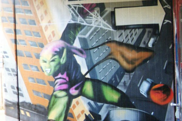 Graffiti Green Goblin