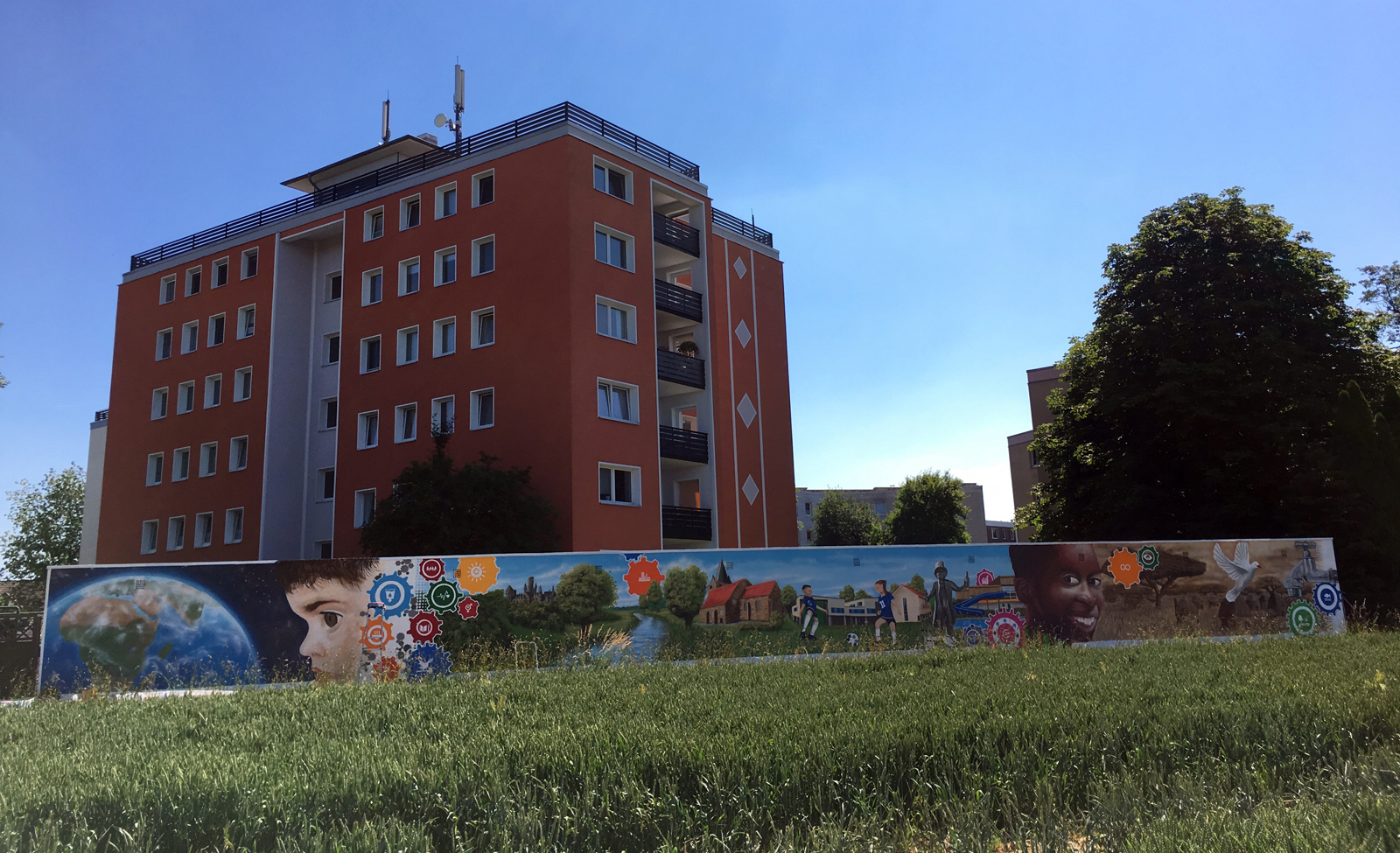 Graffiti Workshop in 2017