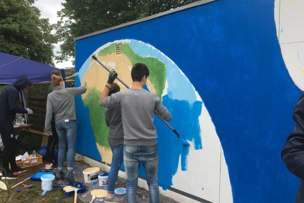 Graffiti Workshop in 2017