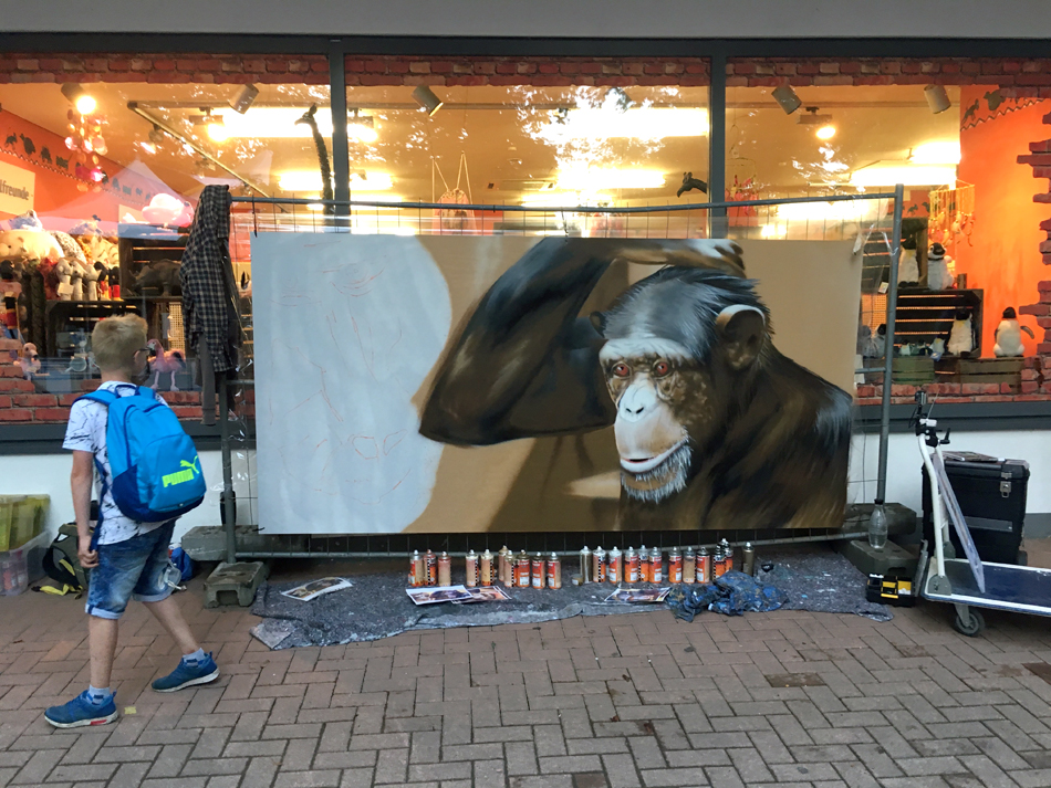 Graffiti Zoo Hannover | Affe | 2017