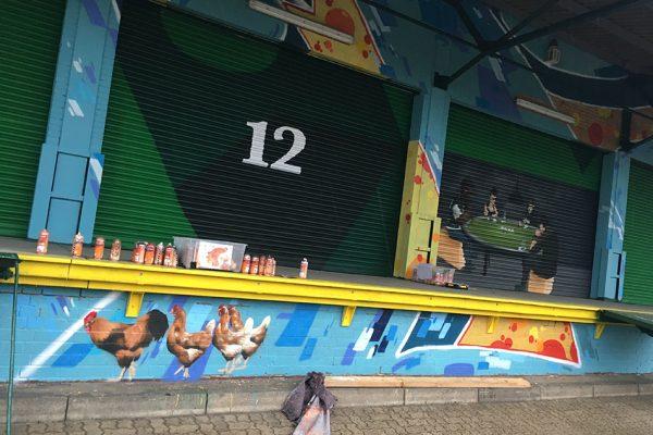 Riesen Graffit