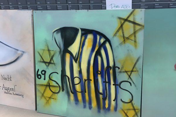 Graffitiworkshop in Gedänkstätte