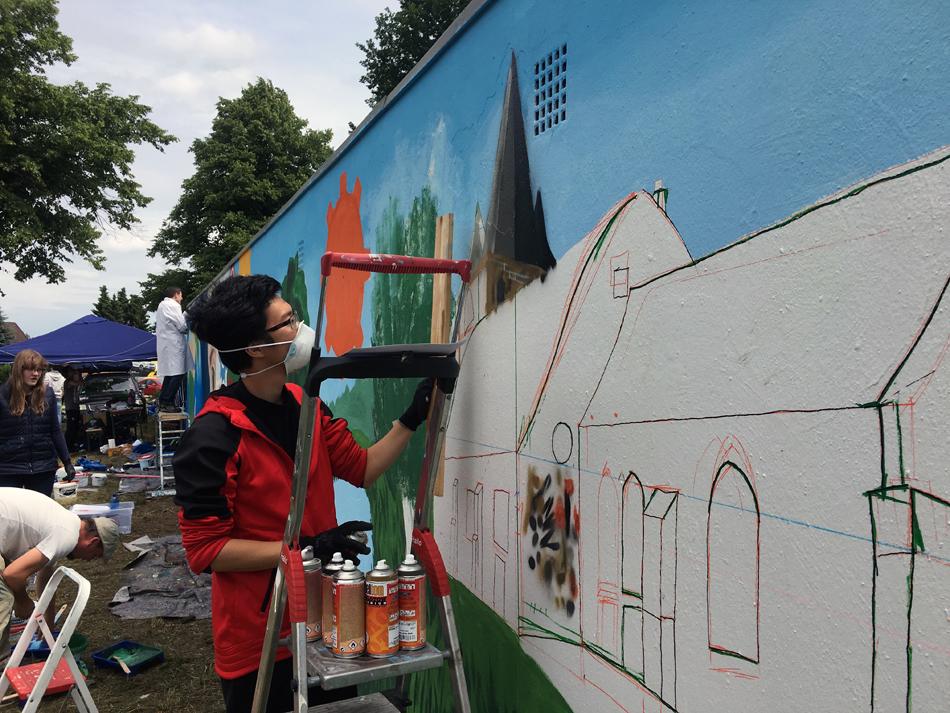 Graffitiworkshop   Pattensen   2017