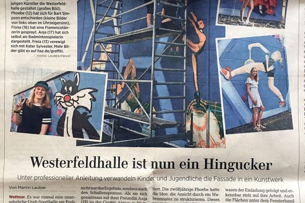 Graffiti Workshop Projekt Hannover