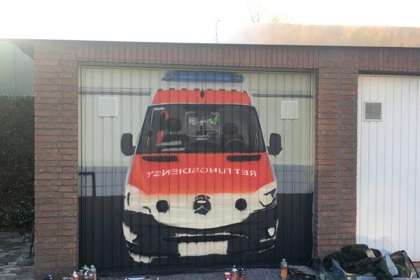 Graffitiauftrag in Hannover