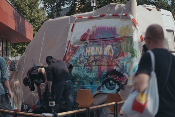 Graffiti Aktion zum Mitmachen