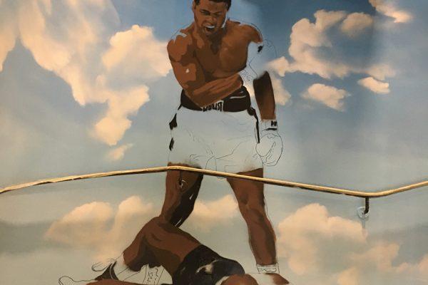 Muhammad Ali Graffiti