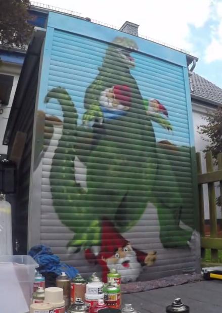Godzilla Graffiti