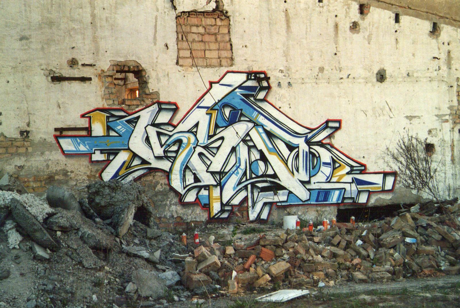 graffiti geschichte
