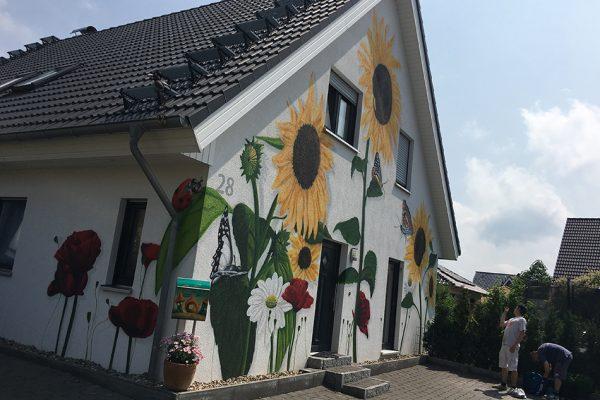 Sonnenblumen EInfamilienhaus19