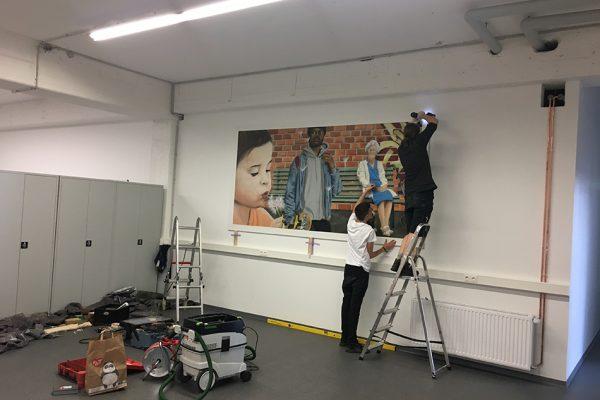 Graffiti Auftragsarbeit