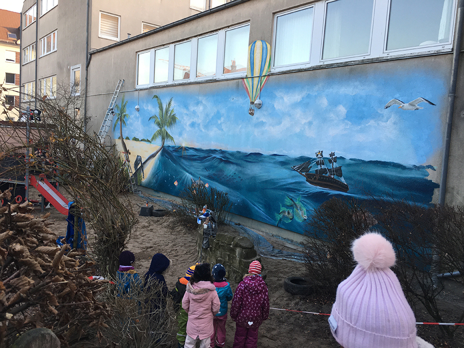 Graffiti Kindergarten