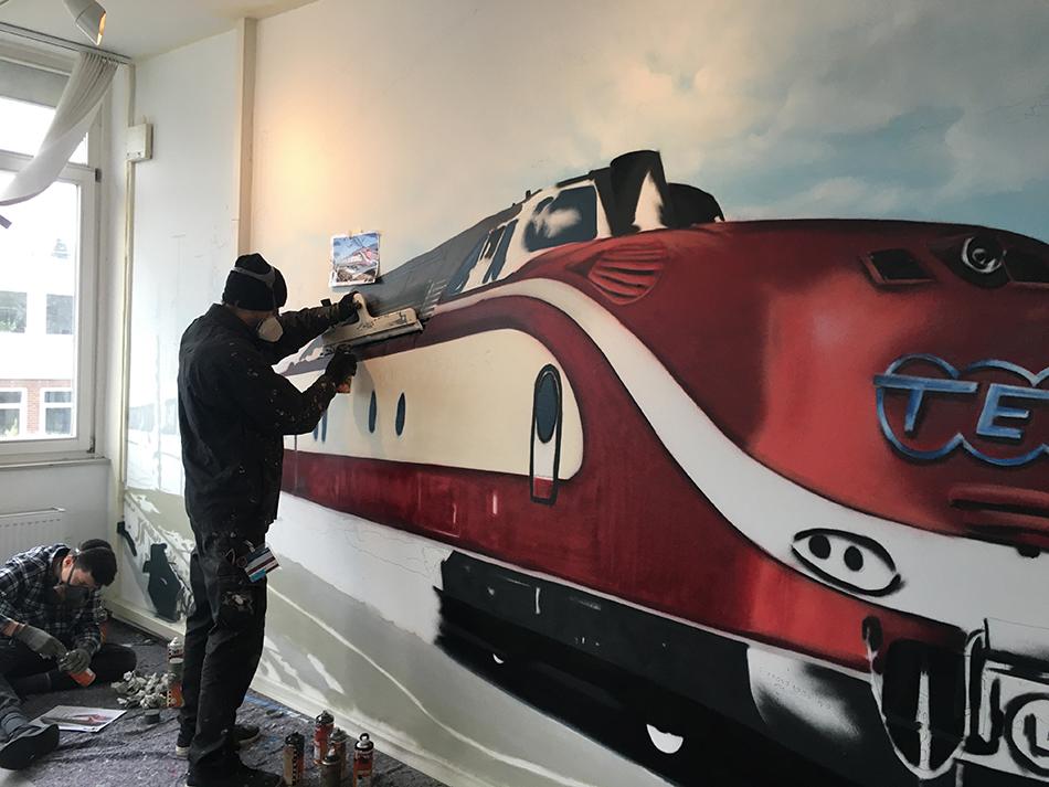Graffiti Zug