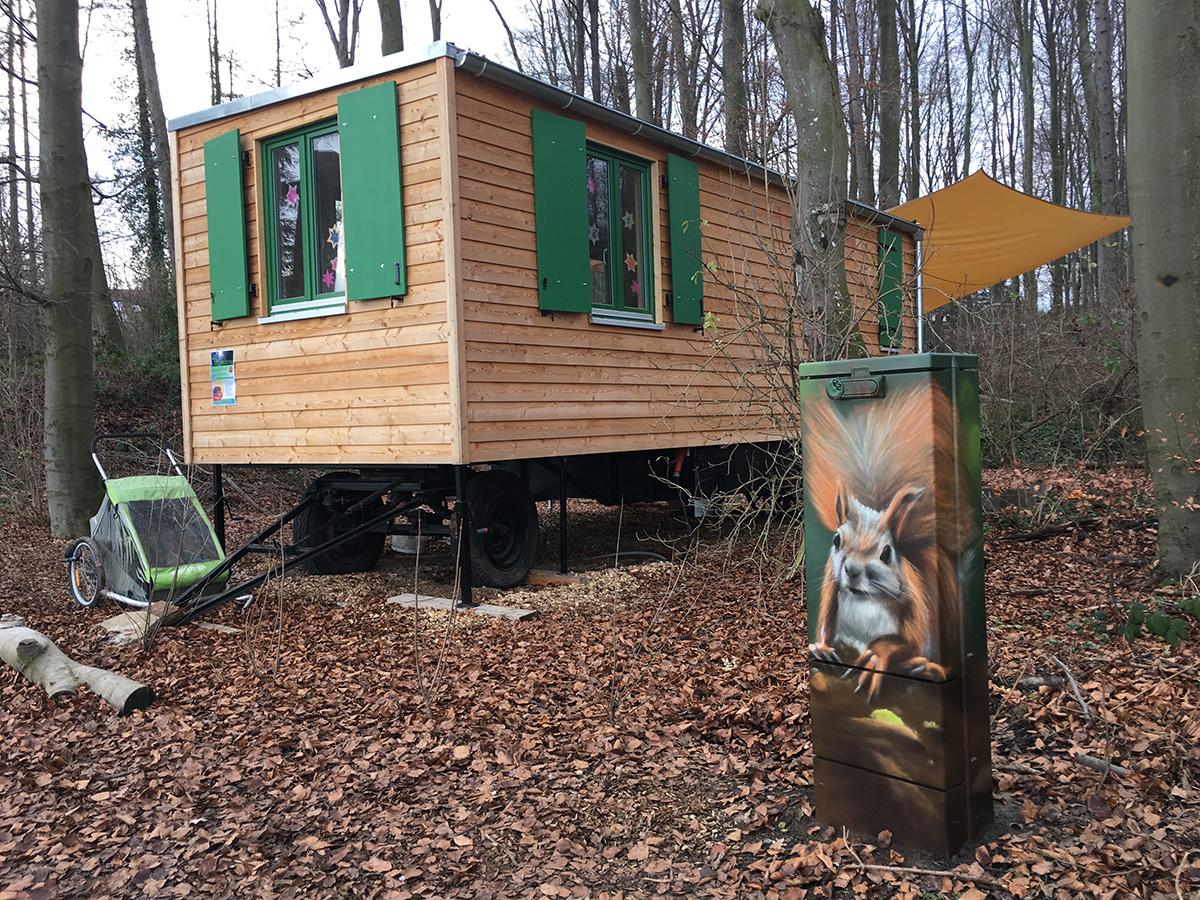 Waldkindergarten Graffiti