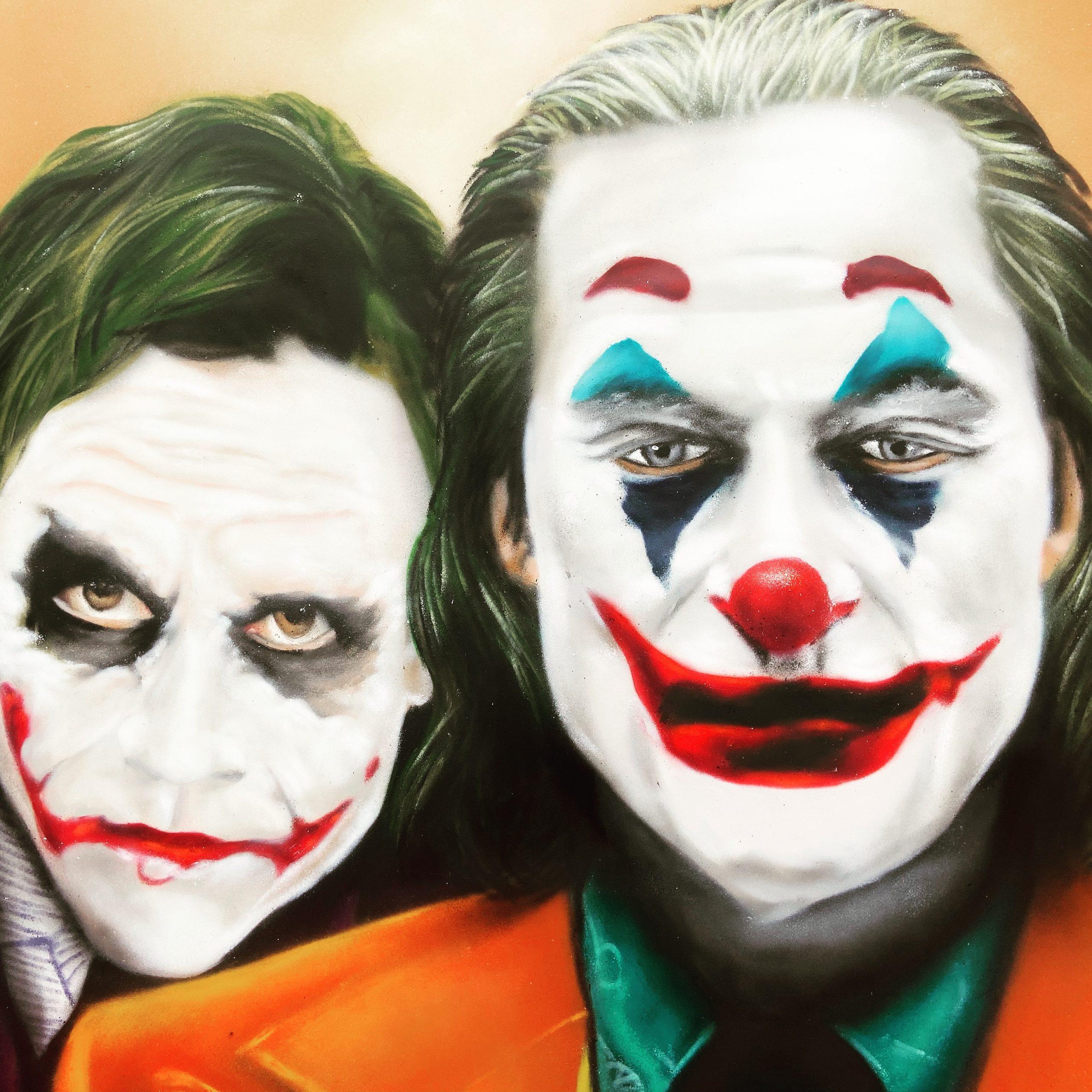 Joker Graffiti