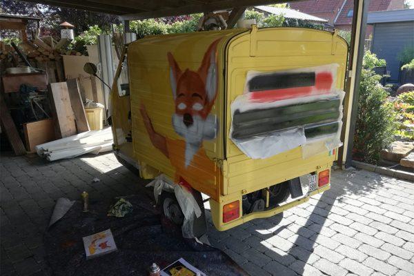 Graffiti Ape 3 klein