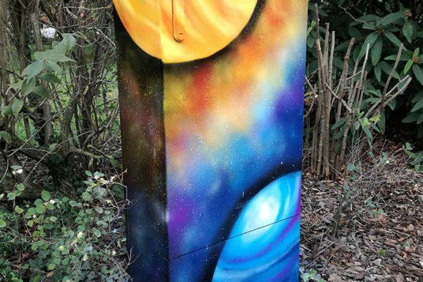 Graffiti Inklusionsprojekt