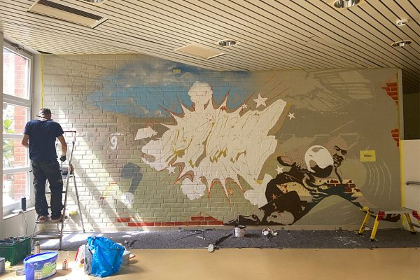 Graffiti Klinikum